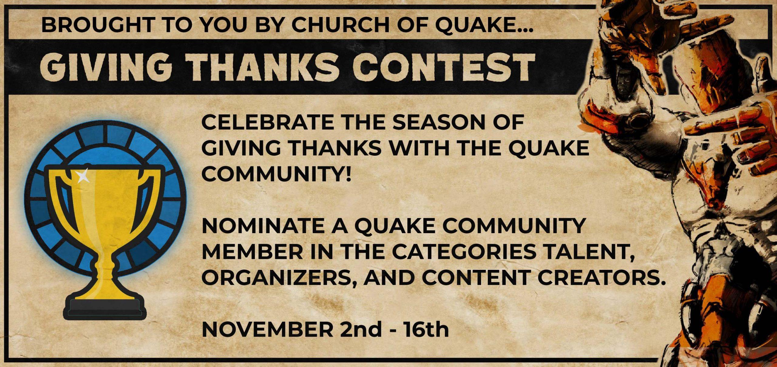 Giving Thanks Contest
