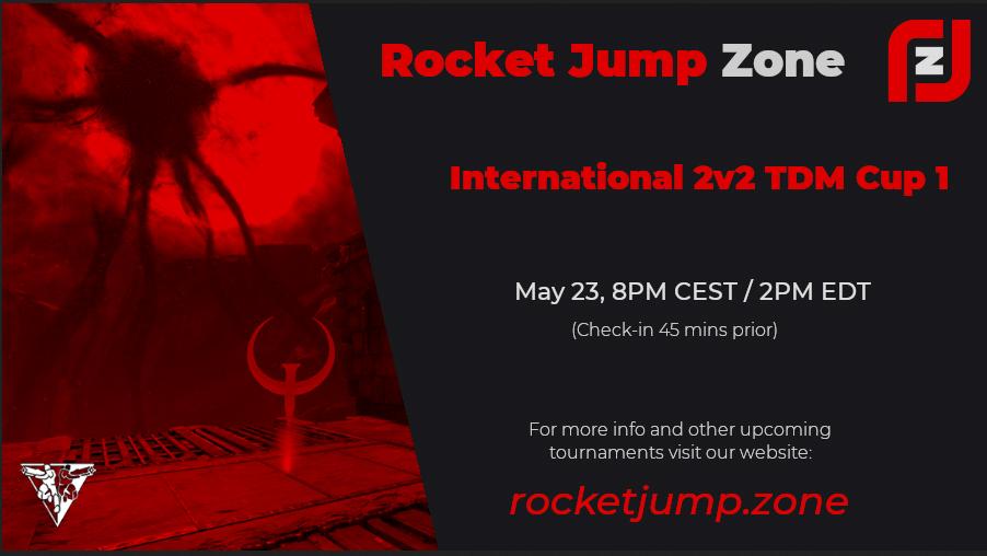 Rocket Jump Zone 2v2 TDM Cup