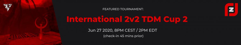 Rocket Jump Zone 2v2 Cup 2