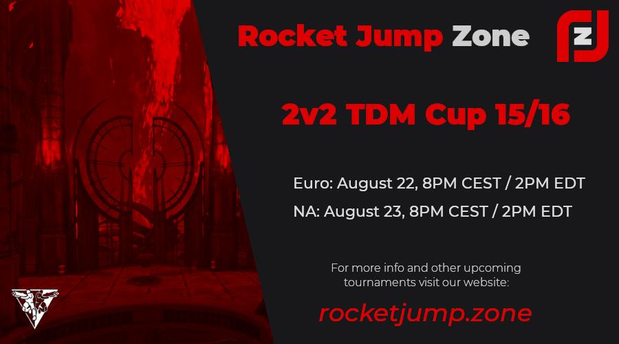 Rocket Jump Zone 2v2 Cup x2
