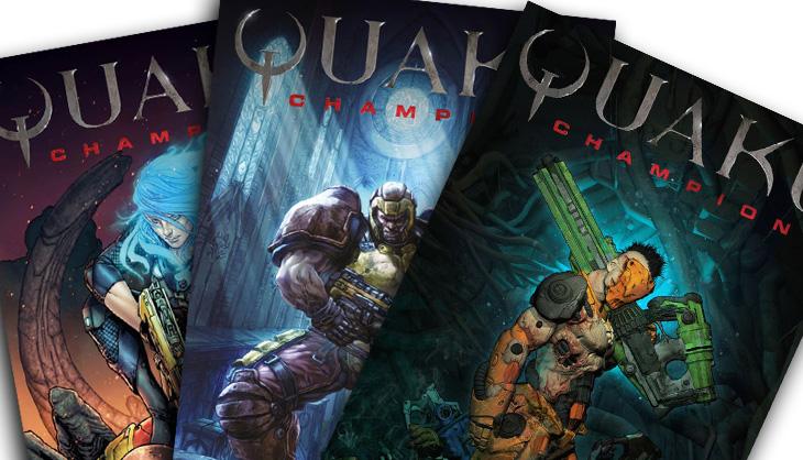 Quake Champions Comic Book Reviews [HARDCORE MINDS / QuakeFans]