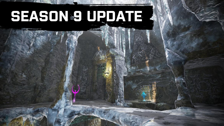 Quake Champions Season 9 Winter Patch is live!