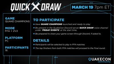 Quake Champions FFA Quick Draw – Quakecon Community
