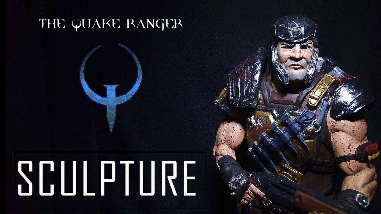 Sculpting The Quake Ranger – OliQuake