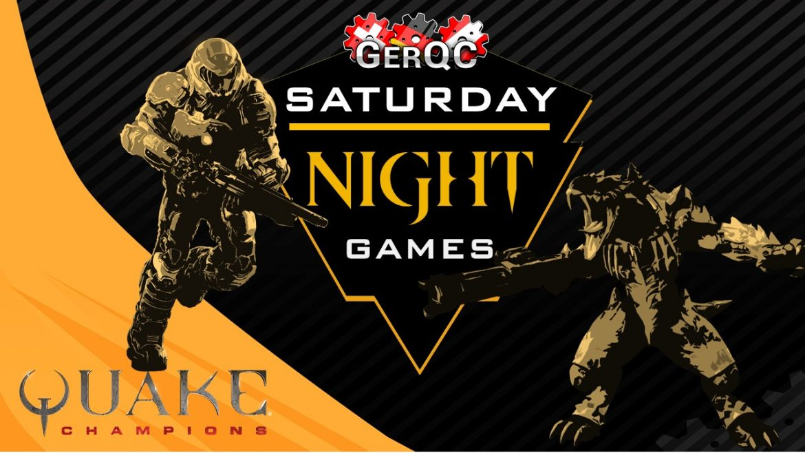 GerQC Saturday Night Games, starting with 3vs3 CTF Draft Cup this Saturday