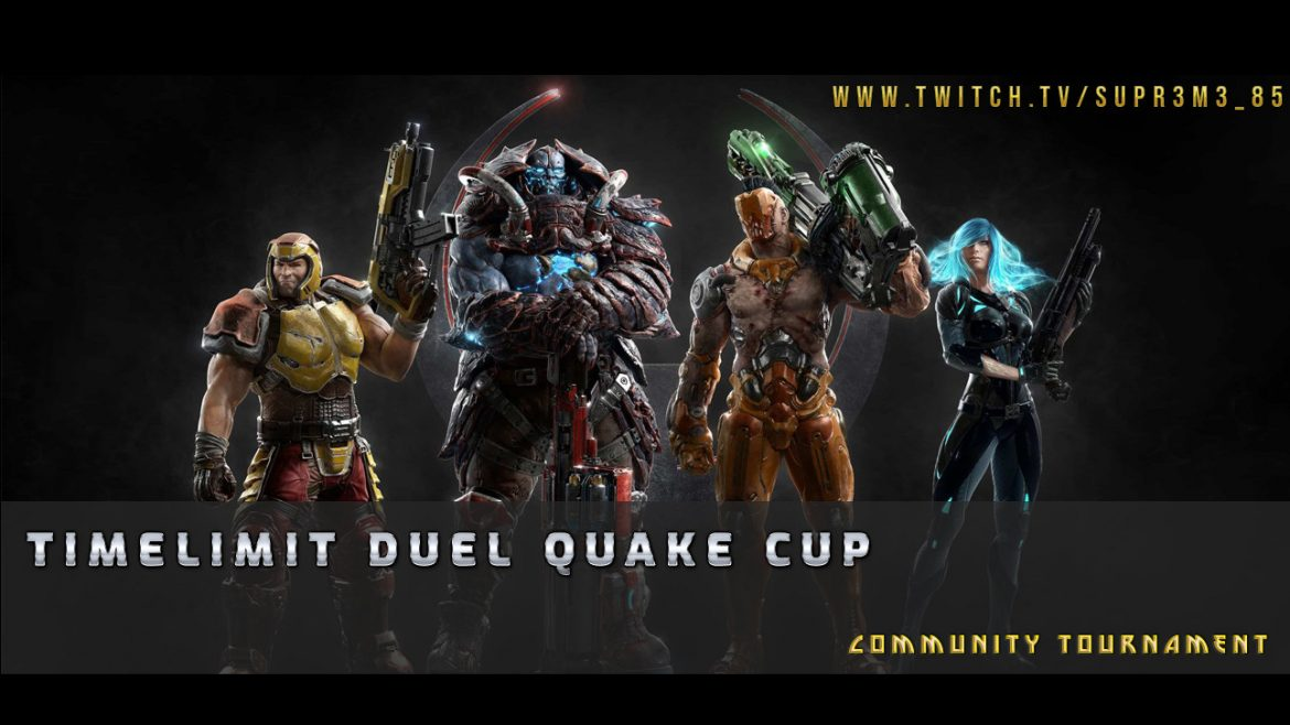 Weekly French Quake Cup #3 starting in less then 15 minutes #QuakeIsLife
