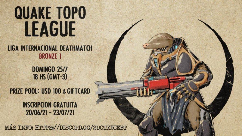 Quake Topo League Bronze I Deathmatch – QC South America