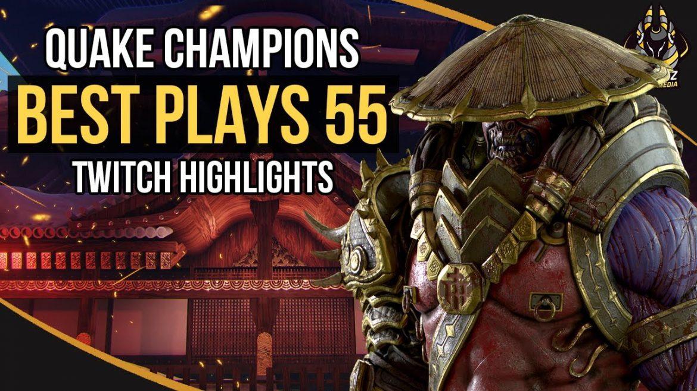 Quake Champions Best Plays 54 & 55 – Flukkz Media