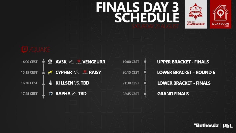 #QuakeProLeague Season 2 World Championship Day 3 FINALS