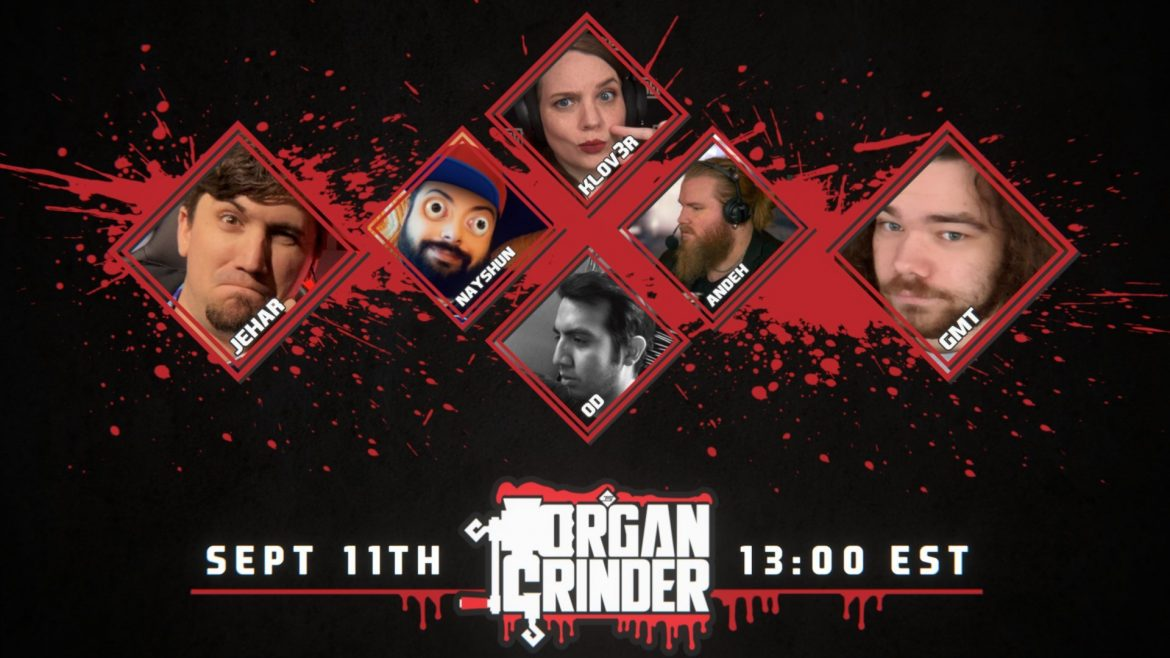 Organ Grinder's 6TH Edition Starts Today at 1:00PM EAST Feat. #QuakeChampions