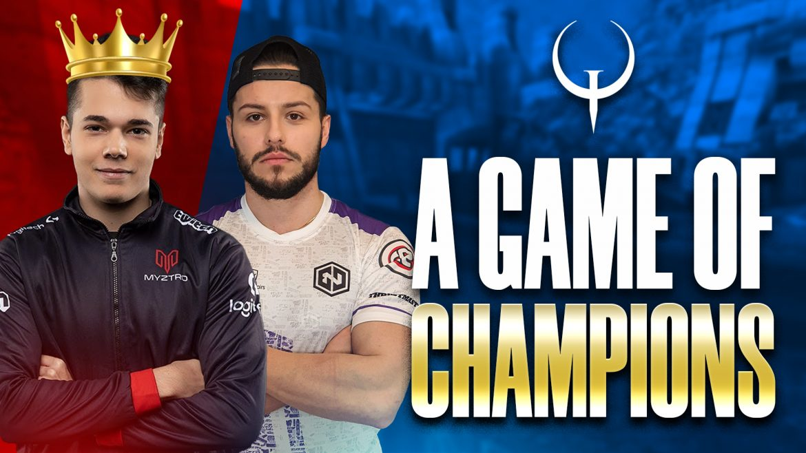 Endpoint's #Quake A GAME OF CHAMPIONS Podcast today at 3PM EAST