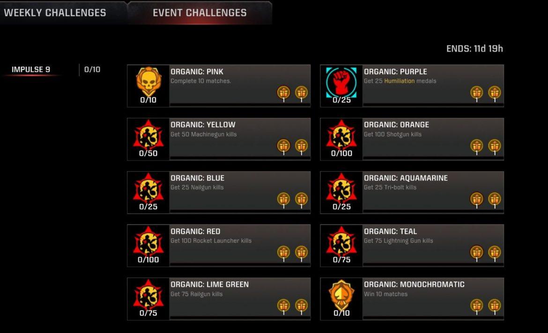 Impulse 9 Game-Mode Event Live for #QuakeChampions